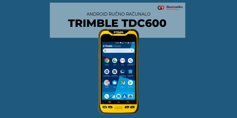 Trimble TDC600 Handheld