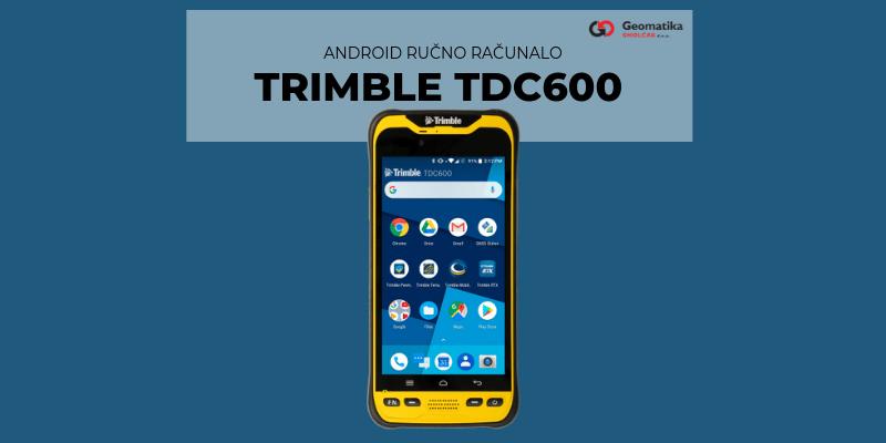 Trimble TDC600 Hanheld
