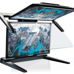 3d pluraview stereo monitor