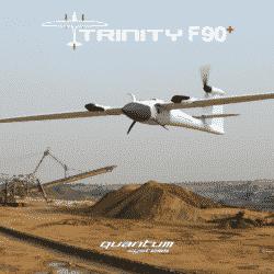 TRINITY F90+ profesionalni VTOL